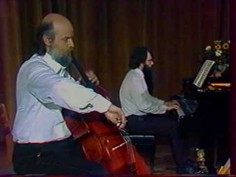 Beethoven Cello Sonata 1 - Boyan Vodenicharov & Anatoli Krastev