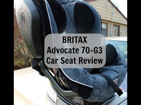 Britax Advocate 70-G3 Car Seat Review - Baby Gear - darcyandbrian