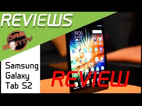 Samsung Galaxy Tab S2 9.7 Test - Review - Unboxing - T815 - T810 -  Deutsch Das Monty