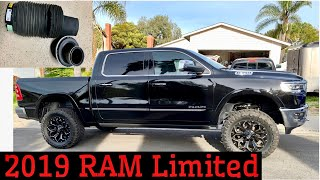 """2019 Dodge Ram 1500 limited, Rough country 5"""" air shock lift kit installation (Air shock blows up)"""