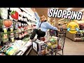 Grocery shopping with alisha!! vlogmas day 9