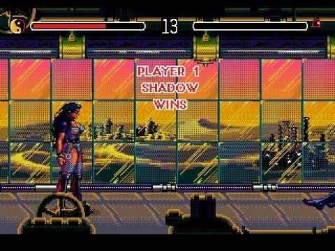 Mega Drive Longplay [116] Eternal Champions