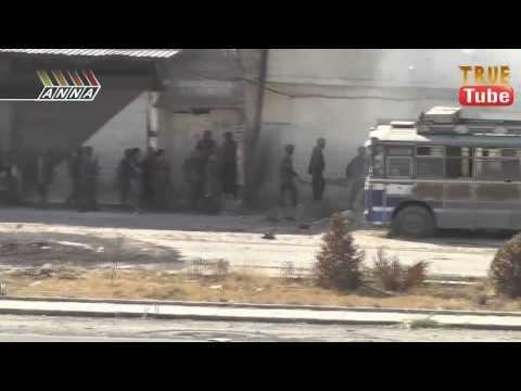 دمشق معركة الشمال : عملية انزال واقتحام والسيطرة على مباني وتأمين سلامة الاوتوستراد — جزء 4  مترجم