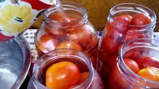 Помидоры в томатном соусе, простой рецепт!
