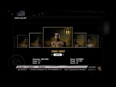 Fight Night Champion - Roster and Overall Ratings HD