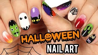 10 Halloween Nail Art Designs: The Ultimate Guide 2018!