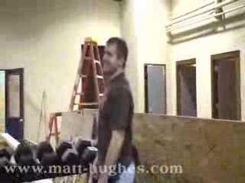 Matt-hughes: 100-pound Club video