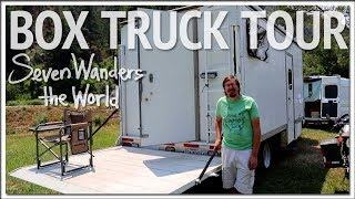 Brian's Box Truck RV Tour E457