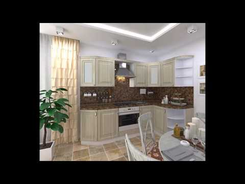 Дизайн маленьких кухонь в хрущевку и в панельные дома.