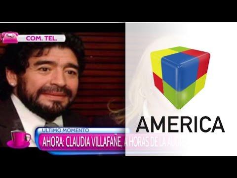 """Claudia Villafañe: """"No le tengo miedo al poder de Diego"""""""