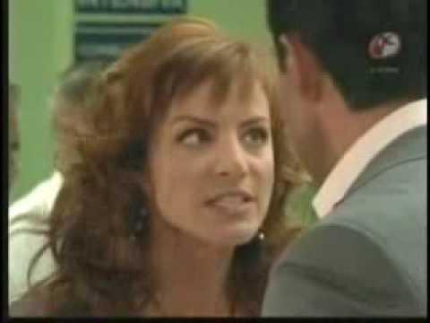 Franco le hace escena de Celos a Fernanda en el hospital.  (Fernando Colunga y Silvia Navarro)