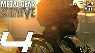 Metal Gear Survive - Gameplay Walkthrough Part 4 - Exploring The Fog (Full Game) PS4 PRO
