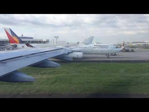 Philippine Airlines Manila to Incheon travel video