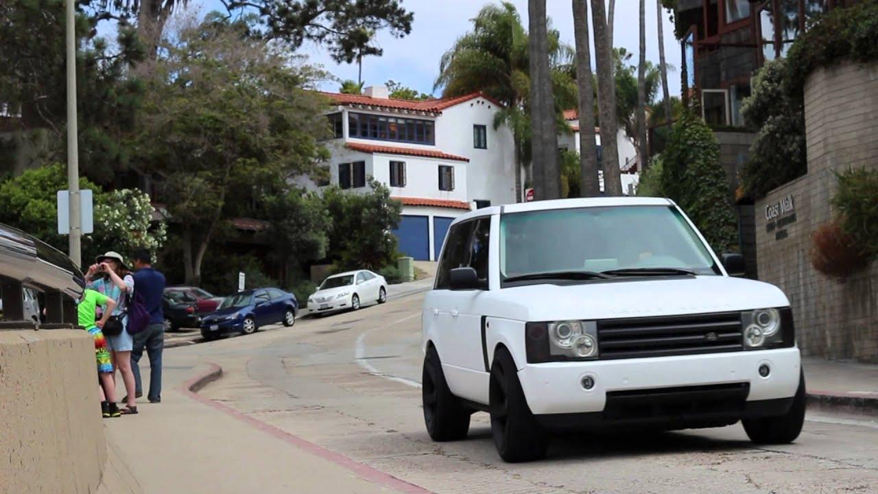 Matte White Range Rover Hse Youtube