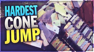 The IMPOSSIBLE Cone Jump... (Fortnite)