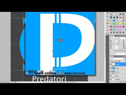 Photoshop // Como crear un logotipo de manera sencilla, facil y profesional