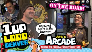 1UP Bar Arcade All Access Tour - Denver, CO - LODO - Classic arcade and pinball games galore!