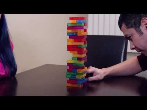 TETRIS JENGA - REMATCH!- Husband vs Wife