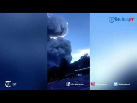 Detik-detik Erupsi Gunung Tangkuban Perahu