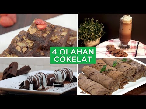4 Olahan Cokelat | 4 WAYS