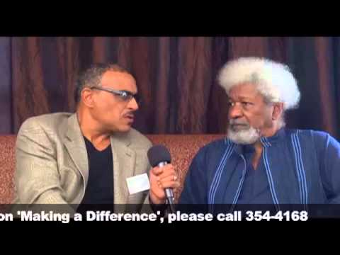 Making a Difference - Interview with Prof. Wole Soyinka