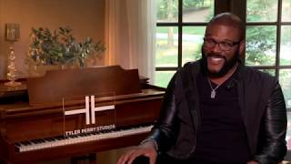 Tyler Perry inspires by opening the largest movie studio in America