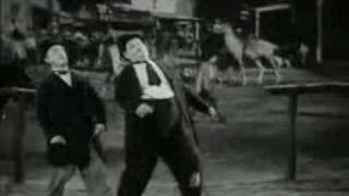 Laurel and Hardy dance to Billy Jean