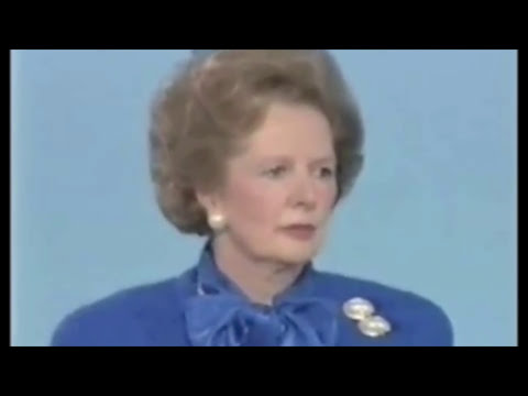 Margaret Thatcher's Anti-Gay Speech (1:00 min)