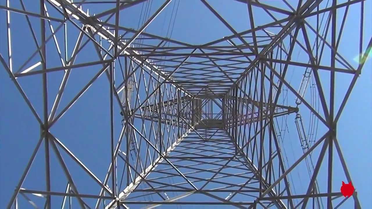 Inspecci n de torre de alta tensi n con mini uav youtube - Cables de electricidad ...