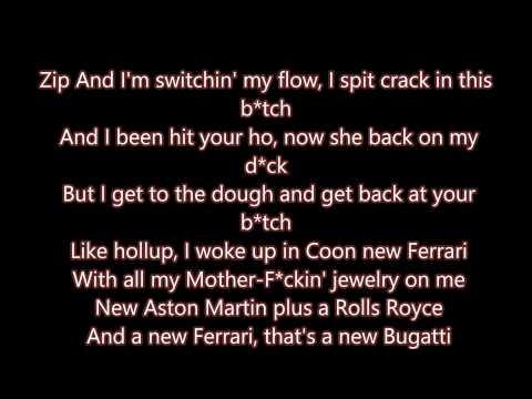 Bugatti Remix Lyrics *On Screen* Clean