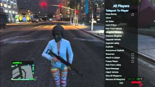 GTA 5 - LTS SPRX Mod Menu Lobby Kick FASTEST METHOD + Info DL Link