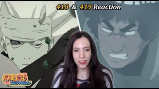 The Blue Beast vs. Six Paths Madara - Naruto Shippuden Episode 418 & 419 Reaction