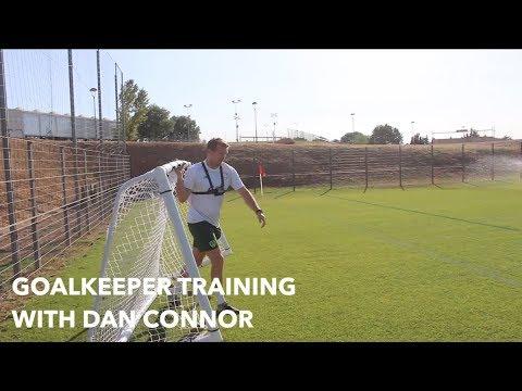 #IRLU21 Access | Goalkeeper Training with Dan Connor