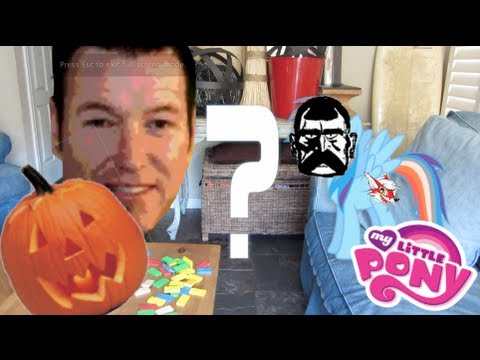 What Does Rick Wanna Be For Halloween? | My Little Pony FiM In Real Life ᴴᴰ