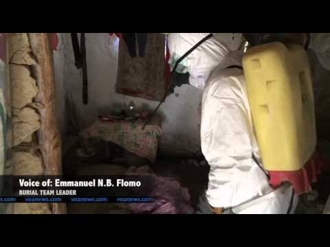 Ebola Virus Disease : Removing Ebola-Infected Bodies - Video