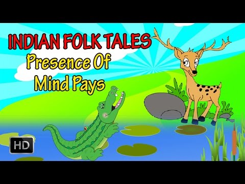 Indian Folk Tales - Short Stories For Kids - Presence Of Mind Pays - Animated cartoons For Children video