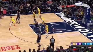 Lakers VS Timberwolves-1-6-19-Highlights