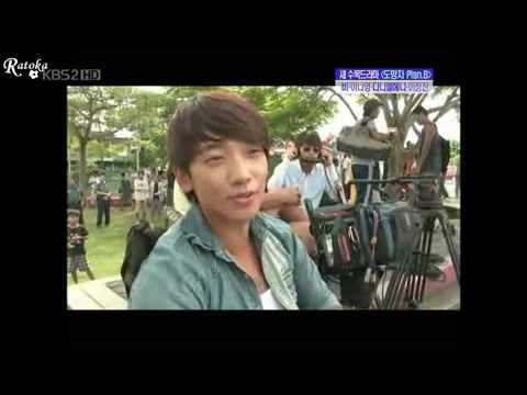 ENG SUB Rain (Bi) _Shoting Fugitive +Press con in seoul. 10-04-10