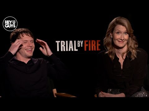 Trial By Fire Interview - Jack O'Connell & Laura Dern On The Incredible True Story