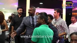 Dhanush Launches Essensuals Tony And Guy Salon