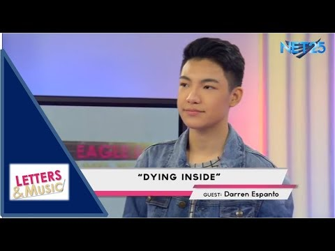 DARREN ESPANTO - DYING INSIDE (NET25 LETTERS AND MUSIC)