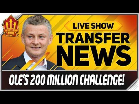 Solskjaers 200 Million Man Utd Transfer Kitty Man Utd News