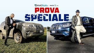 Toyota Land Cruiser, la doppia prova in off road