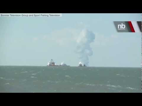 RAW VIDEO: Gulf Oil Platform Explosion Caught on Tape | Newsbreaker | OraTV