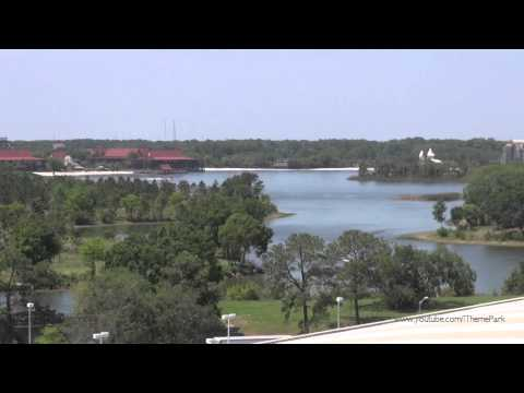 The view from Disney's Contemporary Resort at Walt Disney World