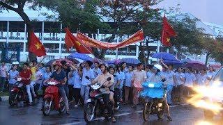 công nhân biểu tình tai đức hòa long an