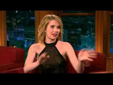 Emma Roberts -  Craig Ferguson Show (07.30)