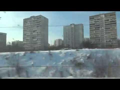 Ховрино - о.п. Петровско-Разумовская из окна Сапсана