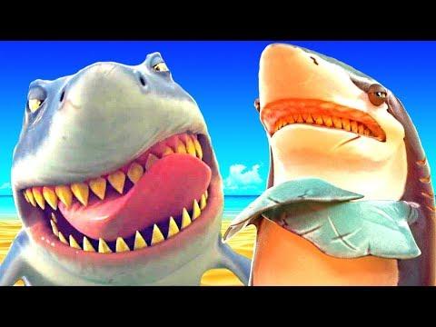 Мультики СМЕШИЛКИ веселая жизнь добрых и голодных акул