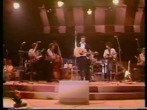 JOHNNY CASH | Live in London (England, 1981)